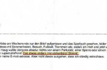 liebe Frau Bührer …