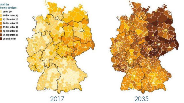 Demographischer Wandel: So entwickelt sich Deutschland bis 2035