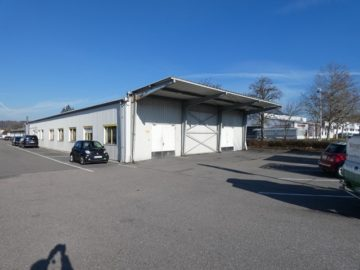 Vielseitige sowie geräumige Gewerbehalle, ebenerdig mit Flügeltor!, 74906 Bad Rappenau, Halle